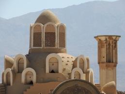 Dachgewölbe eines Hammam in Kashan.