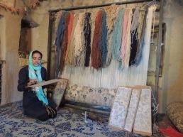 Wie knüpfe ich einen nomadischen Teppich?