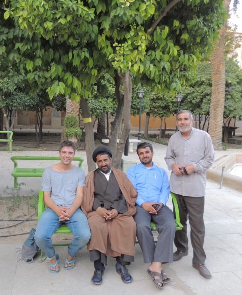 The Ayatollah and me in Shiraz.