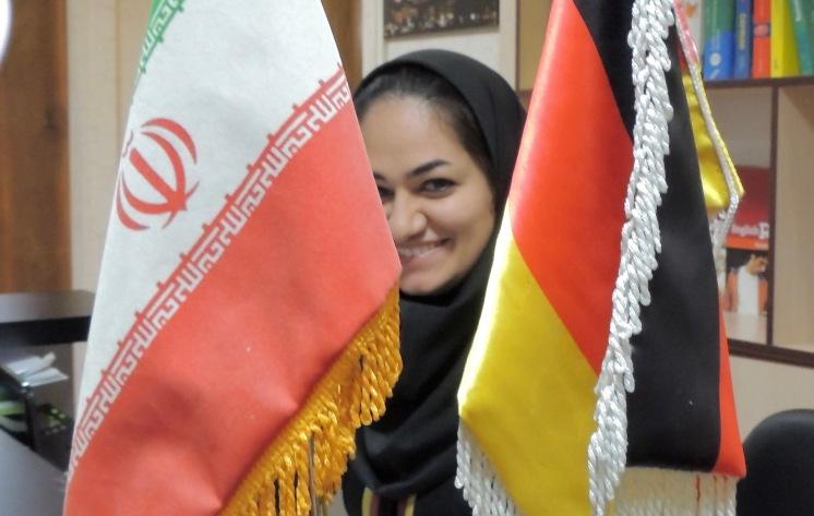 Lehrerin in einem iranisch-deutschen Sprachinstitut in Shiraz.