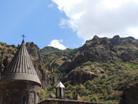 Das Geghard-Kloster ist Weltkulturerbe.