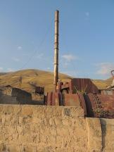 Stillgelegte Soviet-Fabriken wirken wie Geisterstädte.