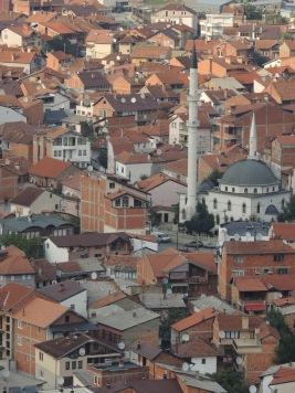 Blick über Prizren.