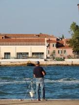 Stadt der Angler