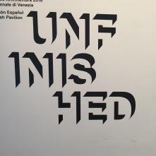 Unfinished ist ja irgendwie alles - sogar Venedig
