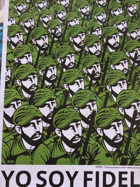 Tageszeitung am Tag nach dem Tod Fidels