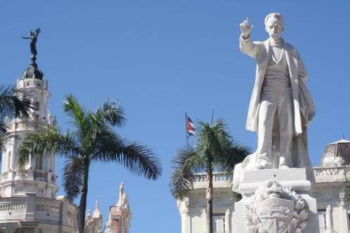 José Marti ist der erste Revolutionär Kubas. Er hat die Insel von der spanischen Herrschaft befreit