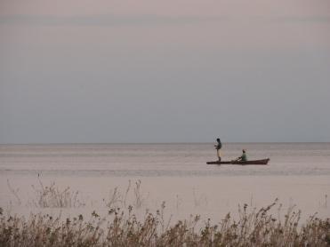 Fischer im Nicaraguasee